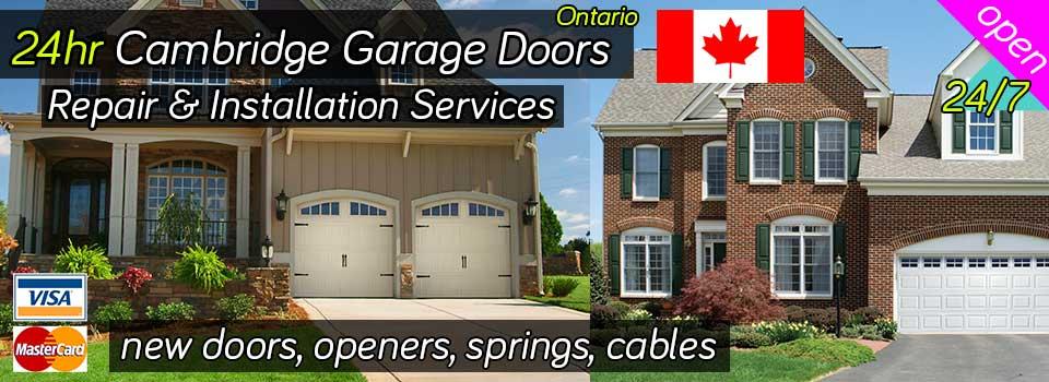 24hr Cambridge Garage Doors Repair Installation Services